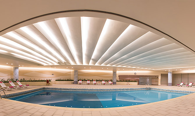 Parsian azadis indoor pool
