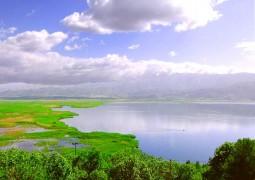 Zarivar Lake, Kurdistan Province, IRAN