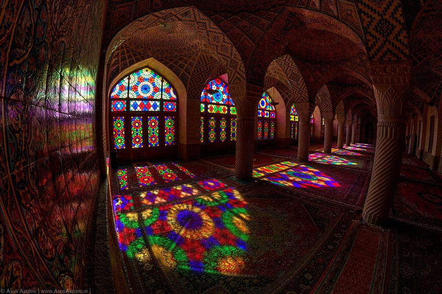 Nasir olmolk Mosque Shiraz