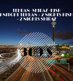 Tehran-Shiraz-Kish tour package