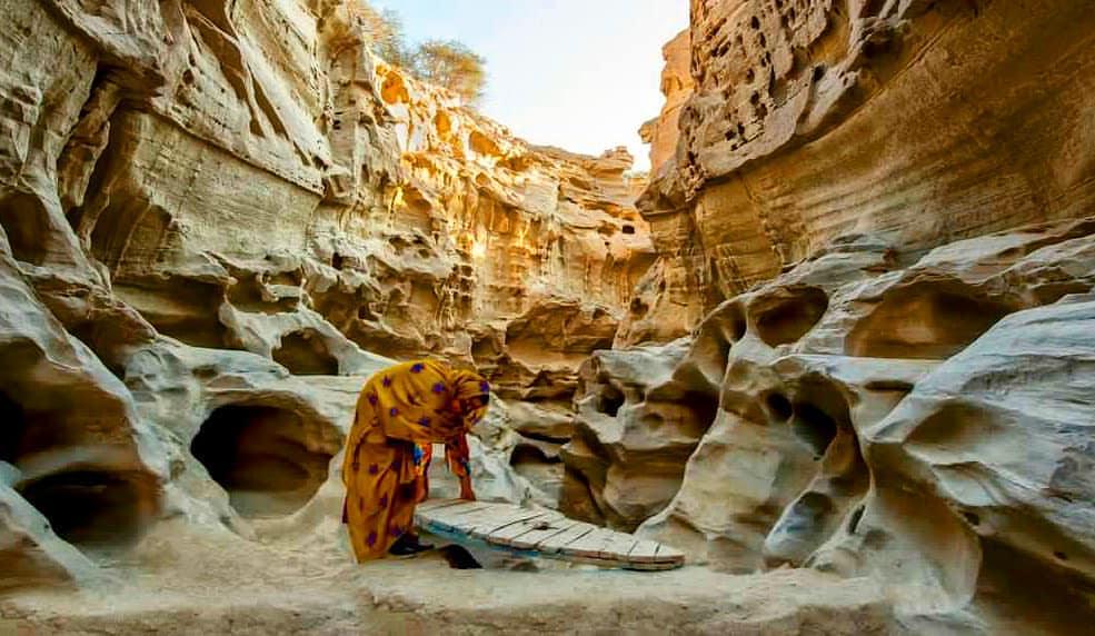 Chahkoh Canyon Qeshm eshm Island