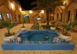 The traditional Sarabi Hotel (Shushtar)